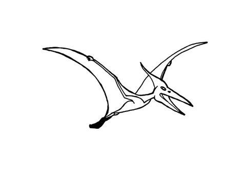 Malvorlage Flugsaurier