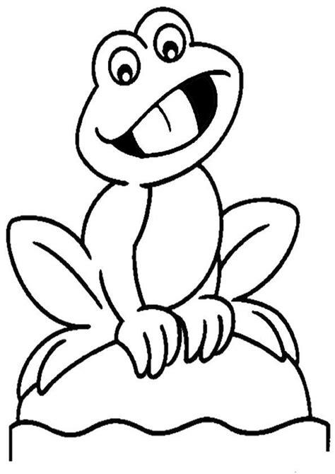 Malvorlage Frosch Gratis
