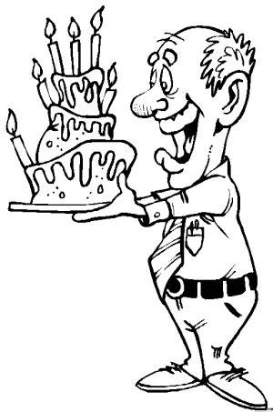 Malvorlage Geburtstag Opa