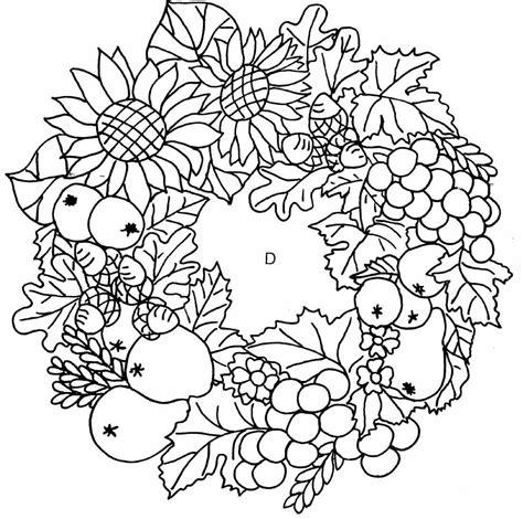 Malvorlage Herbst Mandala
