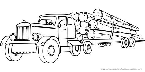 Malvorlage Holz Lkw