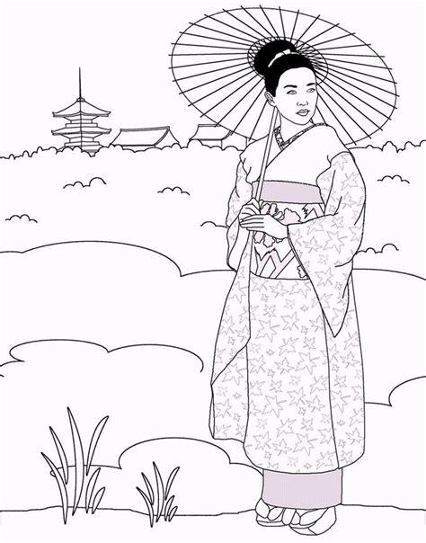Malvorlage Japan