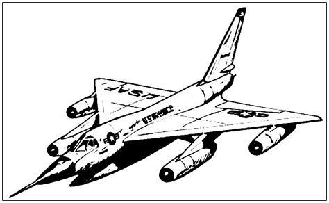 Malvorlage Jet