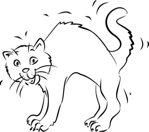 Malvorlage Katze Mit Buckel