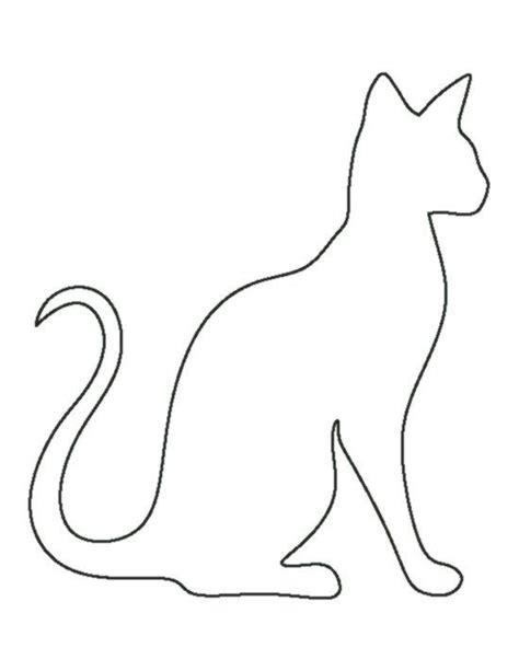 Malvorlage Katze Umriss