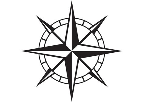 Malvorlage Kompass