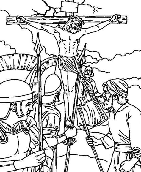 Malvorlage Kreuzigung