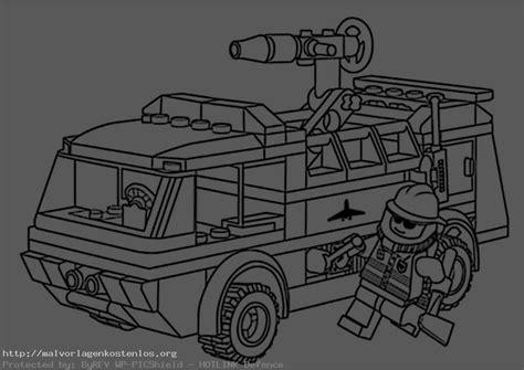 Malvorlage Lego Feuerwehr