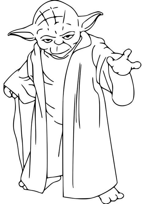 Malvorlage Meister Yoda
