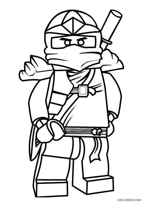 Malvorlage Ninjago