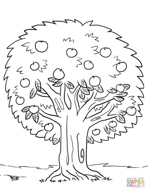 Malvorlage Obstbaum