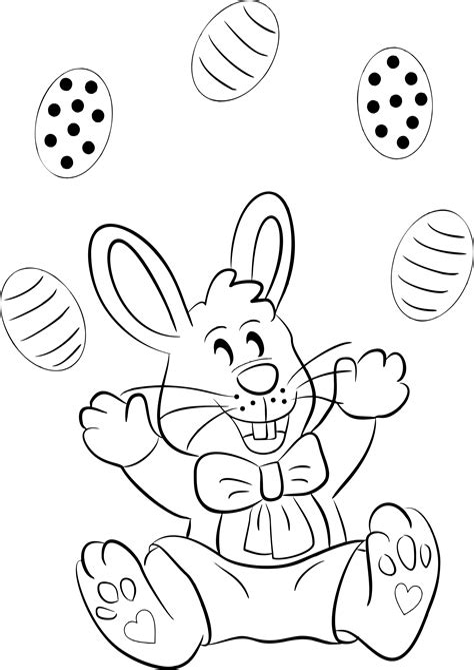 Malvorlage Osterhase Gratis