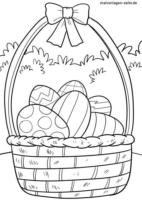 Malvorlage Ostern Gratis