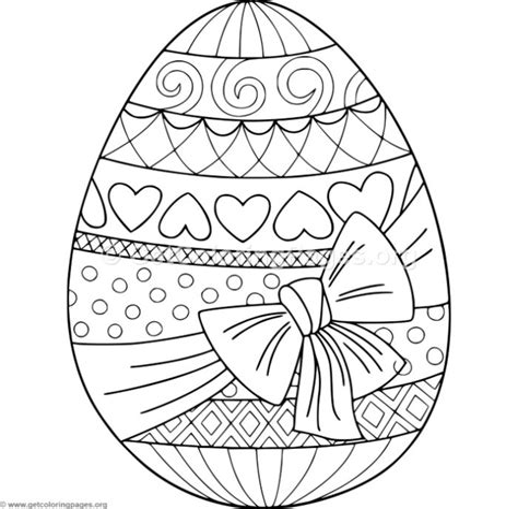 Malvorlage Ostern Mandala