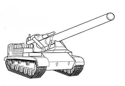 Malvorlage Panzer