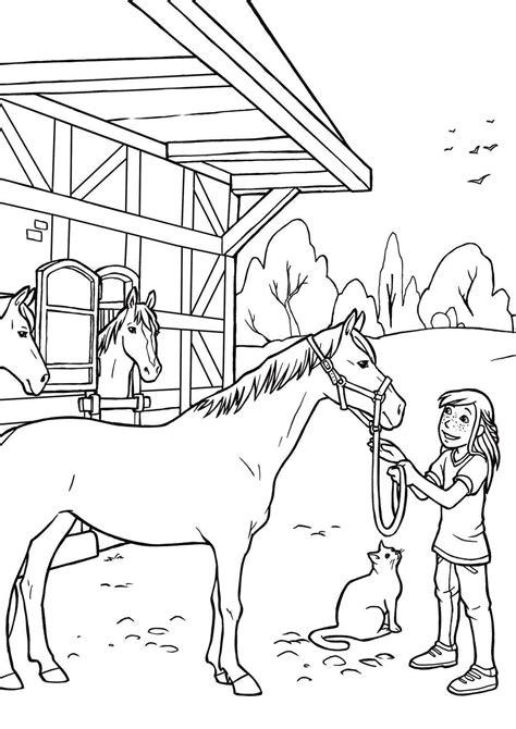 Malvorlage Pferd Und Hund