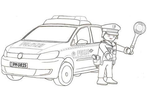 Malvorlage Playmobil Polizei