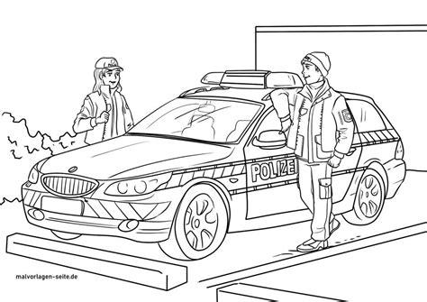 Malvorlage Polizei Kostenlos