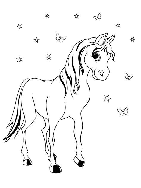Malvorlage Pony