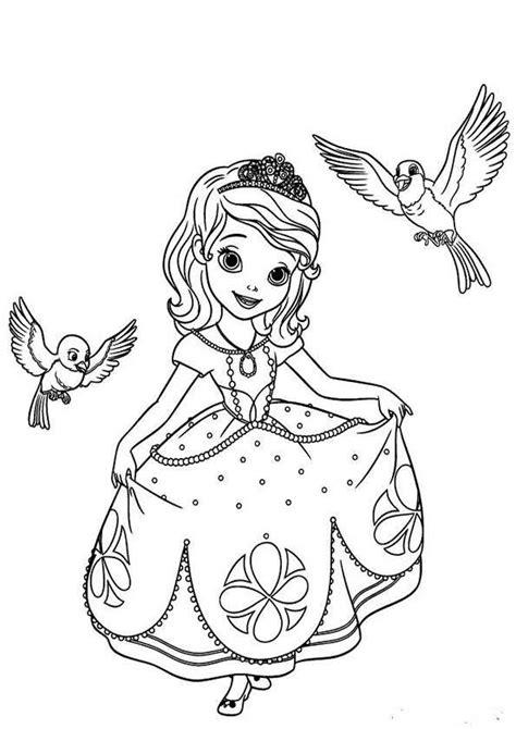 Malvorlage Prinzessin Sofia
