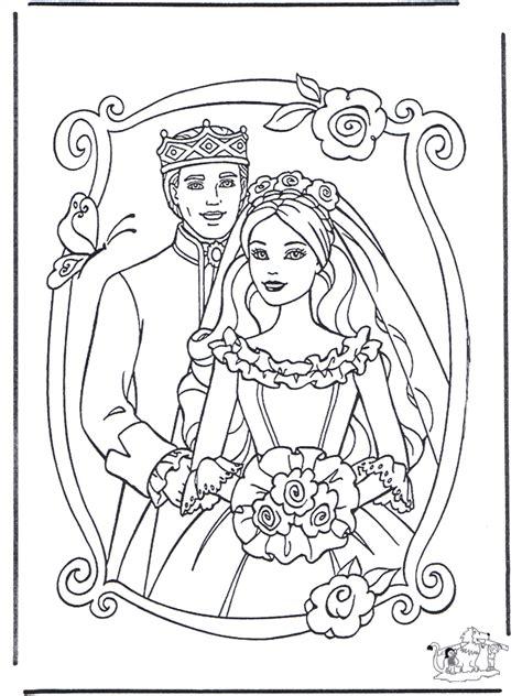 Malvorlage Prinzessin Und Prinz