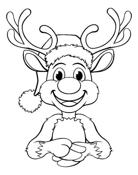 Malvorlage Rudolph