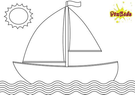 Malvorlage Schiff Einfach