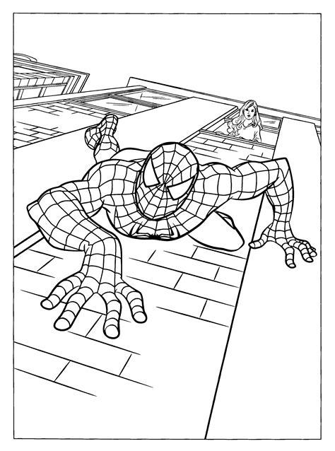 Malvorlage Spiderman