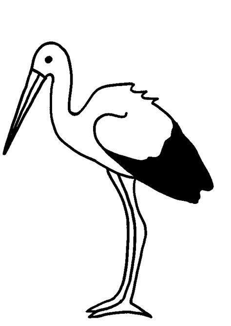 Malvorlage Storch