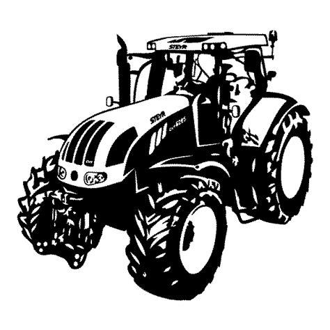 Malvorlage Traktor Steyr