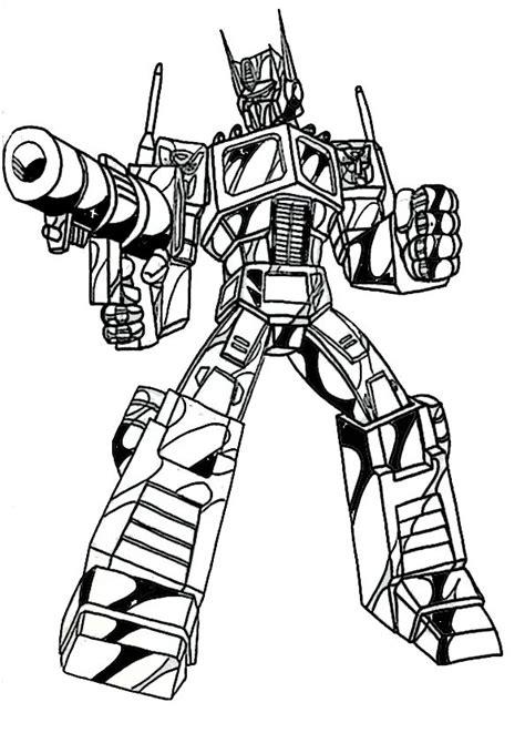 Malvorlage Transformer