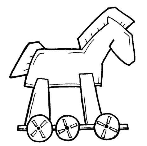 Malvorlage Trojanisches Pferd