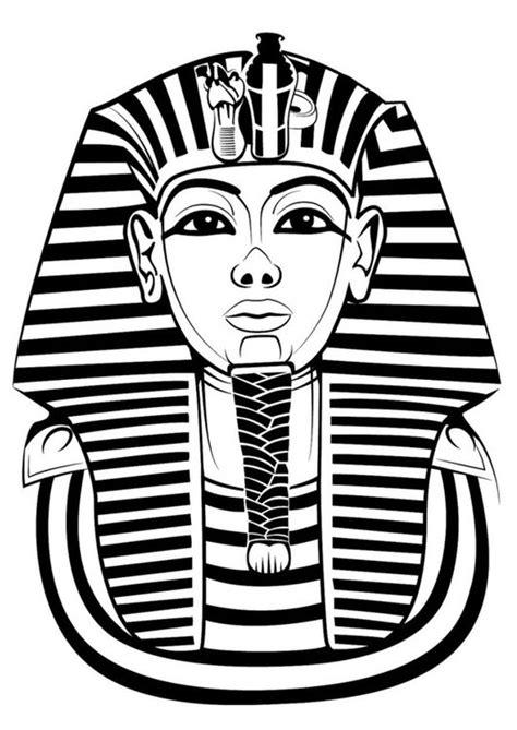 Malvorlage Tutanchamun