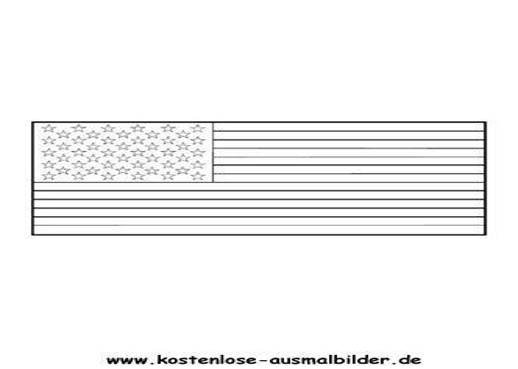 Malvorlage Usa Flagge