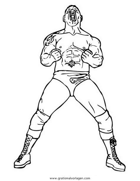 Malvorlage Wrestling