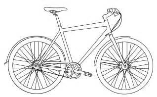 Malvorlage Zum Ausdrucken Fahrrad