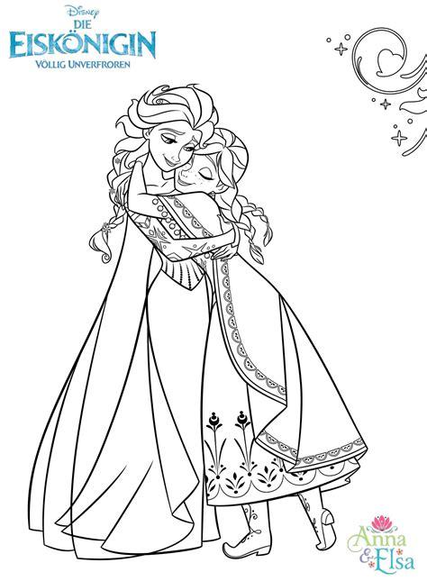Malvorlagen Anna Und Elsa Zum Ausdrucken Anleitung