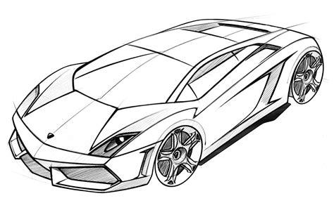 Malvorlagen Autos Lamborghini