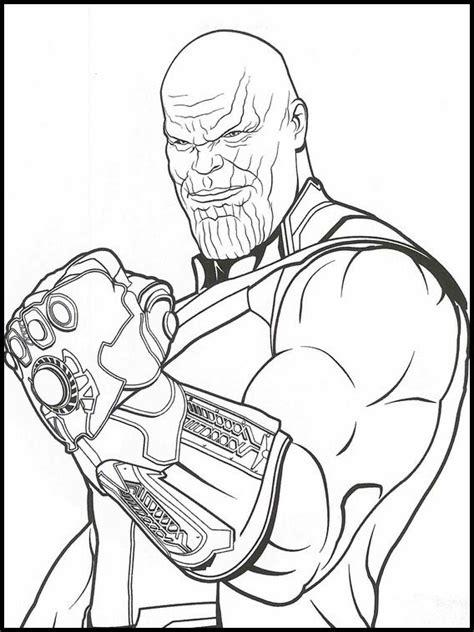 Malvorlagen Avengers Endgame