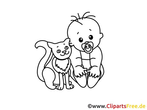 Malvorlagen Baby Junge