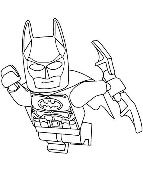 Malvorlagen Batman Lego
