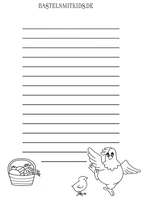 Malvorlagen Briefpapier