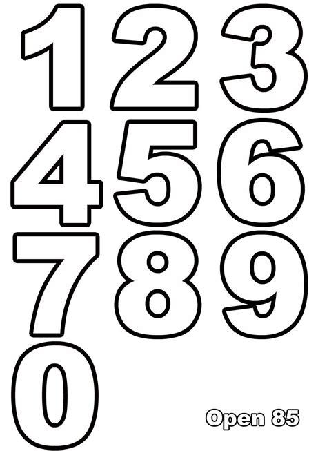Malvorlagen Buchstaben Und Zahlen