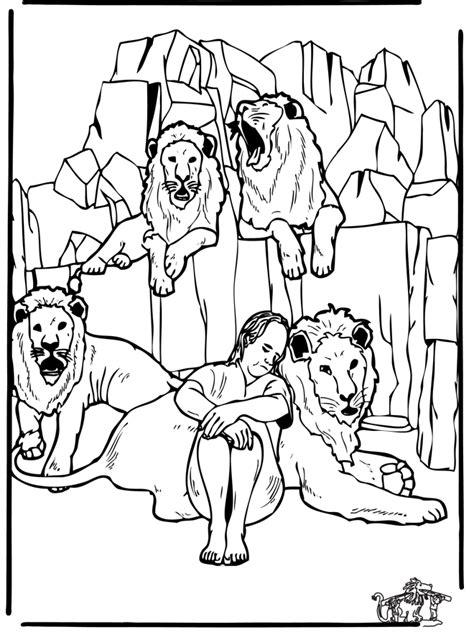 Malvorlagen Daniel In Der Löwengrube