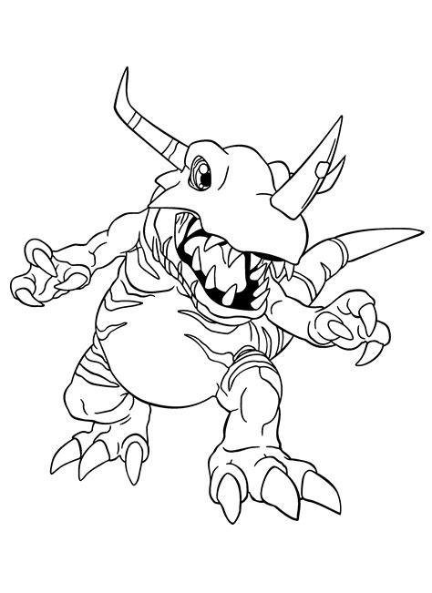 Malvorlagen Digimon