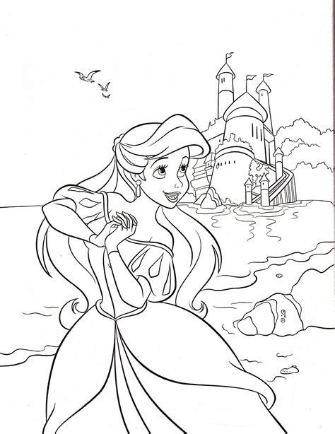 Malvorlagen Disney Prinzessinnen Kostenlos