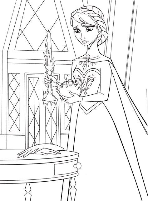 Malvorlagen Disney Queen
