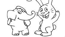 Malvorlagen Elefant Und Hase