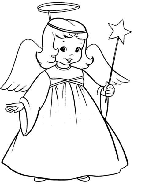 Malvorlagen Engel Für Kinder