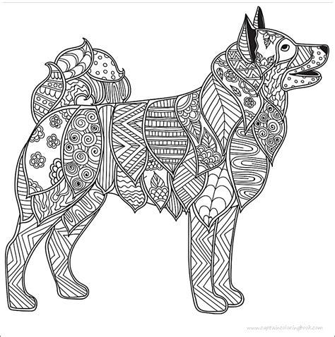 Malvorlagen Erwachsene Hunde